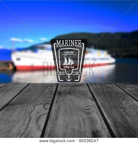Mariner club badges logos and labels for any use