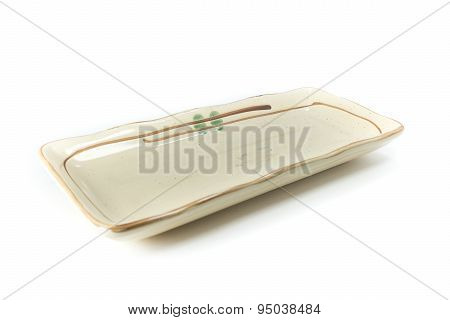 Square Dish In Asian Style
