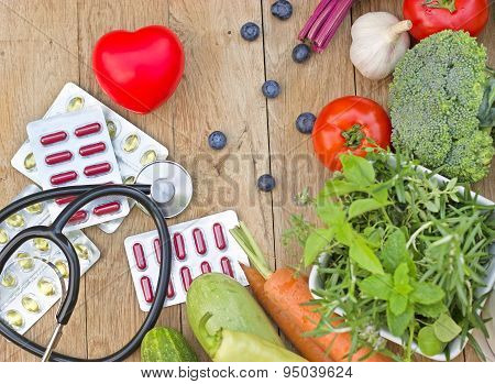 Healthy diet - healthy nutrition