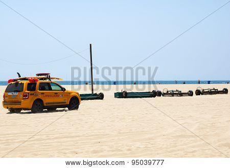 Lifeguard at Venice Beach
