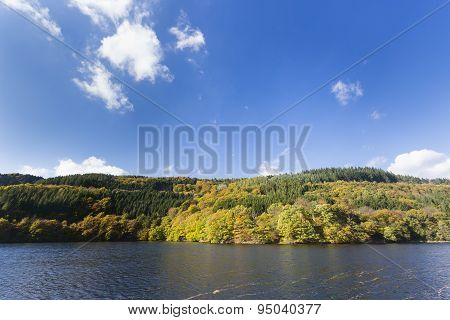 Rursee In Summer, Germany