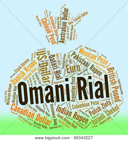 Omani Rial Means Foreign Exchange And Currency