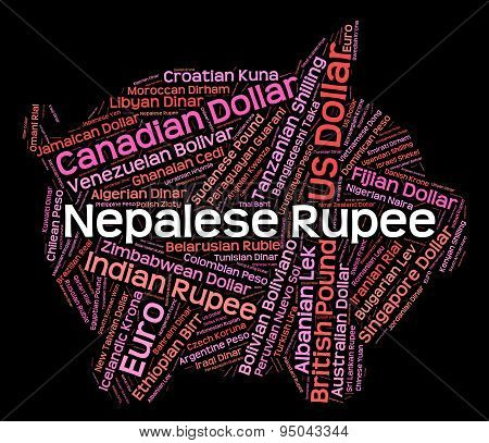 Nepalese Rupee Means Exchange Rate And Foreign