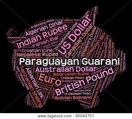 Paraguayan Guarani Indicates Forex Trading And Currencies