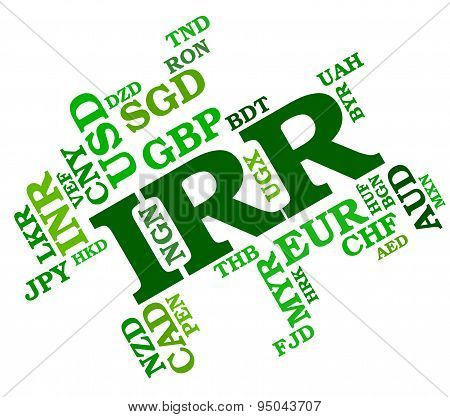 Irr Currency Means Iran Rial And Broker