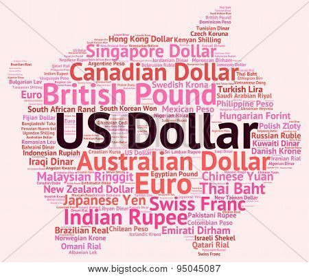 Us Dollar Means Foreign Exchange And American