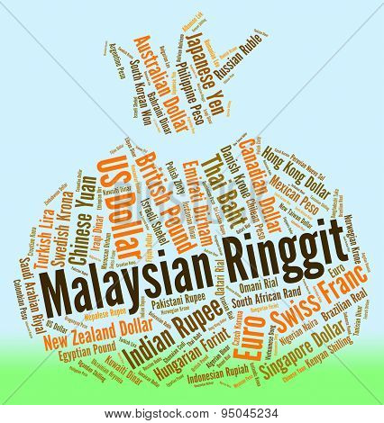 Malaysian Ringgit Represents Exchange Rate And Forex