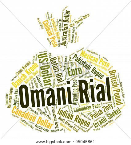 Omani Rial Indicates Forex Trading And Banknote