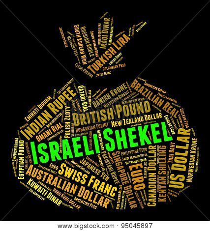 Israeli Shekel Means Foreign Currency And Coin