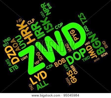 Zwd Currency Represents Forex Trading And Broker