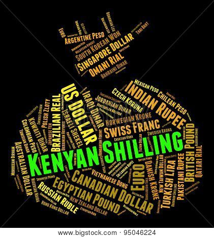 Kenyan Shilling Represents Foreign Currency And Forex
