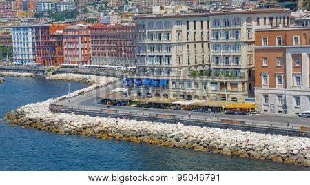 Naples, Italy, Promenade Caracciolo