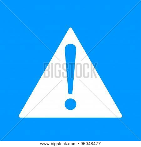 Vector Attention Sign With Exclamation Mark Icon