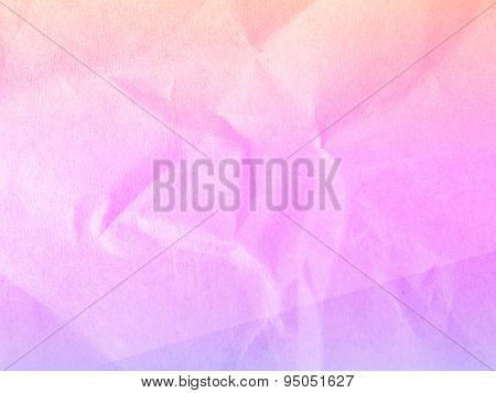 Soft colorful background from paper envelopes.