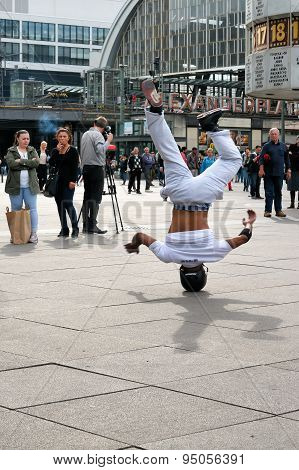 Breakdancer in Berlin