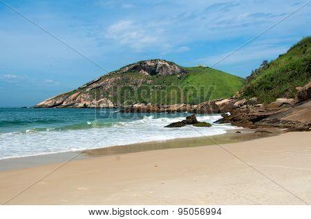 Tropical Brazilian Beach