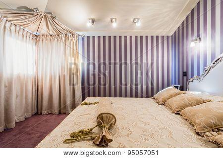 Bedroom In Baroque House