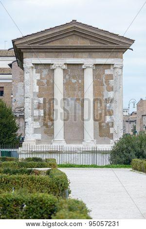 Piazza Bocca Della Verità (english: Square Of The Mouth Of Truth)