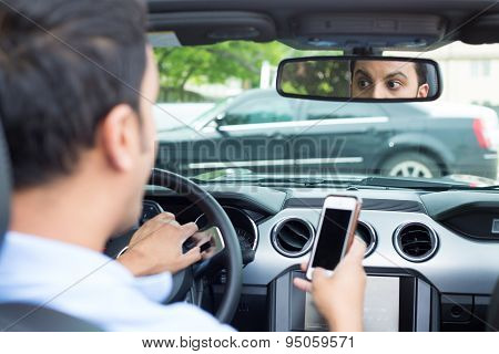 Texting And Driving Cause Traffic Accidents