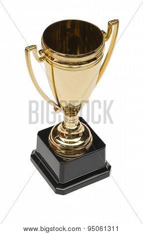 Top honour on white