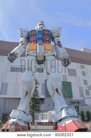 Gundam Odaiba Tokyo Japan