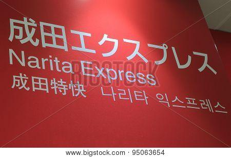 Narita airport express train Japan
