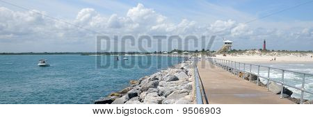 New Smyrna Beach Panoramic