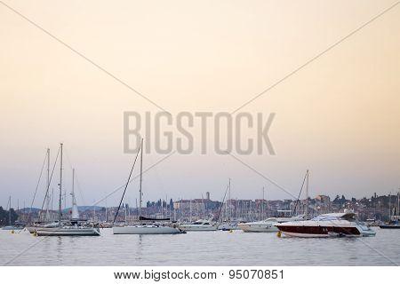 Sailboats In Rovinj