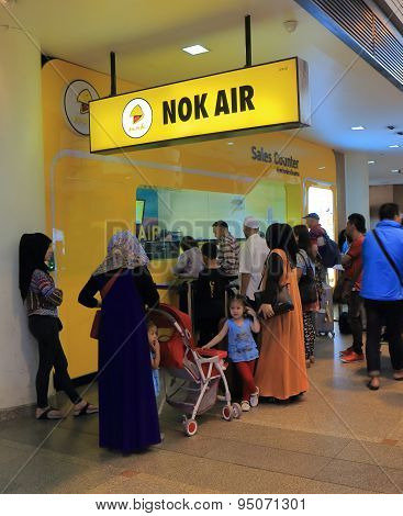 Nok Air Don Mueang airport Bangkok Thailand