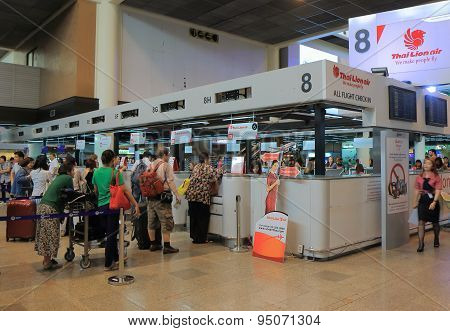 Lion Air Don Mueang airport Bangkok Thailand