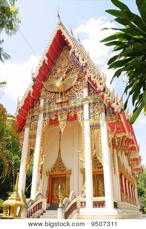 Temple In Yala, thailand