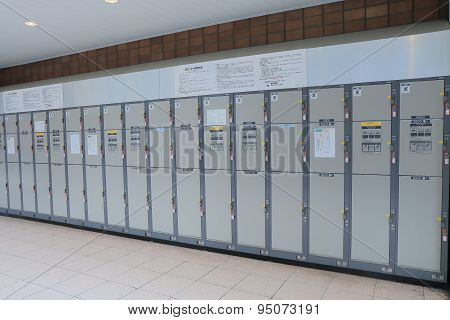 Coin lockers Japan