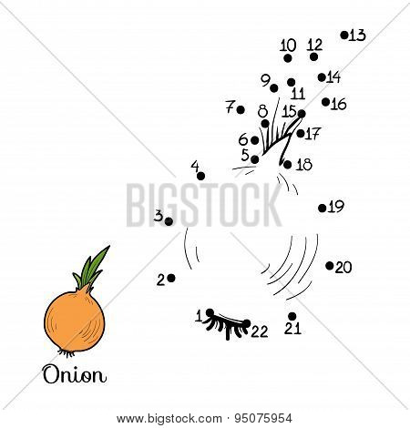 Numbers Game: Fruits And Vegetables (onion)