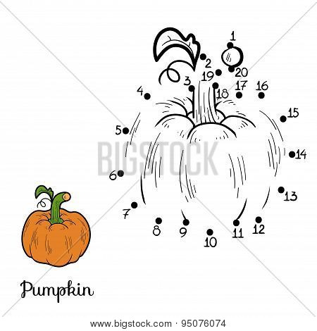 Numbers Game: Fruits And Vegetables (pumpkin)