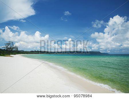 Sok San Long Beach Koh Rong Island Near Sihanoukville Cambodia
