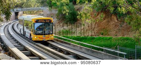 Adelaide O-bahn Busway