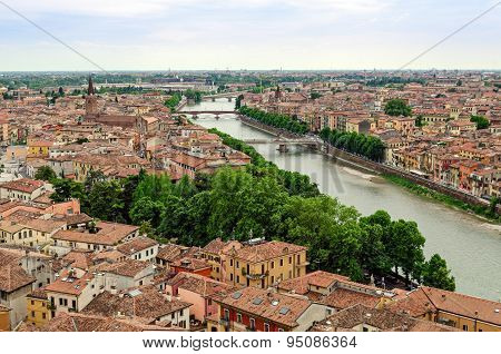 Verona, Panorama (italy)