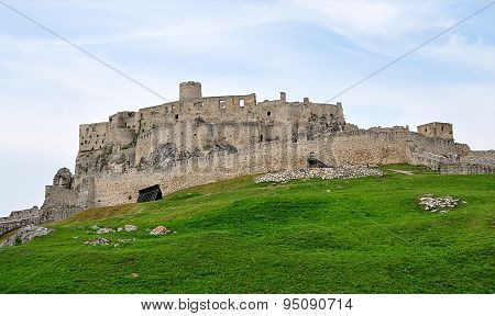Spissky Castle, Slovakia, Europe