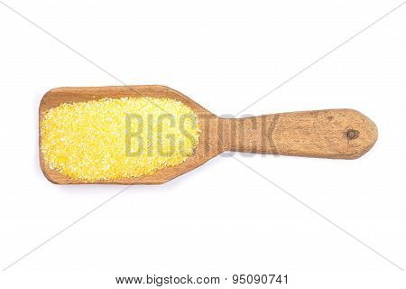 Polenta On Shovel