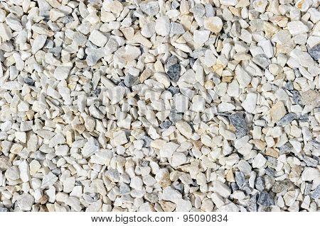 Granite stone gravel