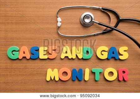 Gases And Gas Monitor