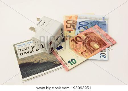Travel money and travel plug