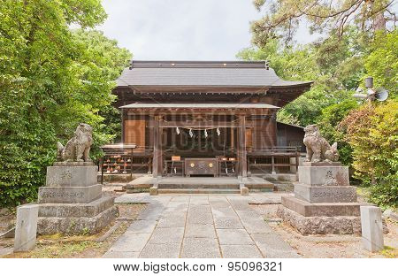 Shinobusuwa (toshogu) Shinto Shrine In Gyoda, Japan