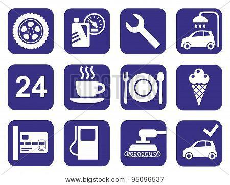 Icons Car Service, Car Wash, ...