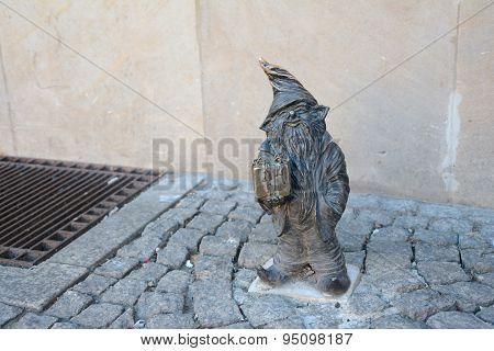 Little Gnome Sculpture.