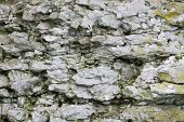 image of cliffs  - Close up of the textures of the Dolomite  - JPG