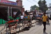 Meeting Point Of Rickshaw Drivers