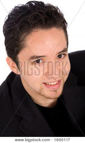 Retrato de jovem inteligente