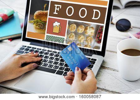 Food Menu Appetite Cuisine Concept