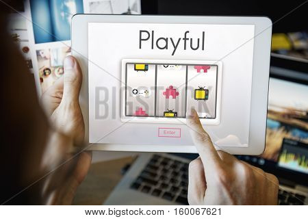 Entertainment Enjoyment Game Fun Concept